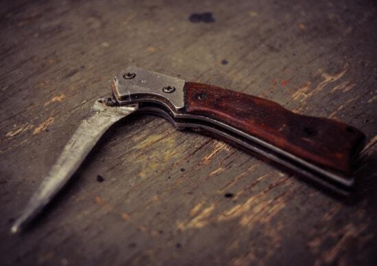 vintage, knife, blade, dagger, stainless steel, sharp, metal, steel, tool, wood