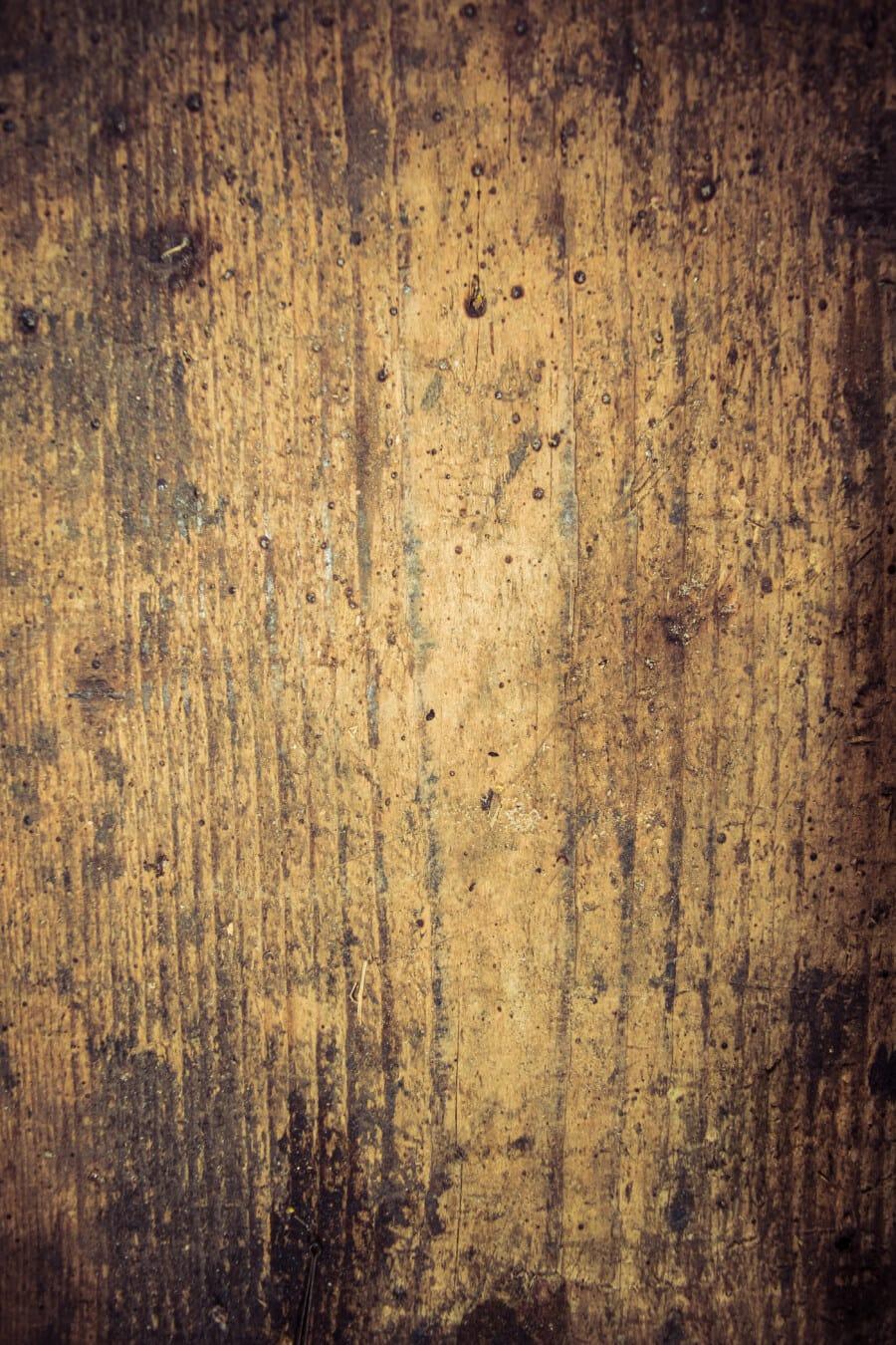 texture, bois, planche, en bois, vertical, tache, carie, abandonné, sale, vintage