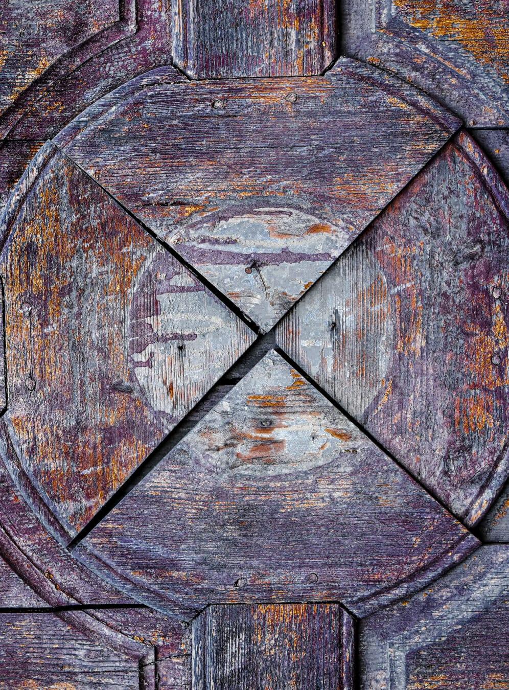 bois, texture, peinture, vintage, Groupe d'experts, carie, géométrique, forme, vieux, unité
