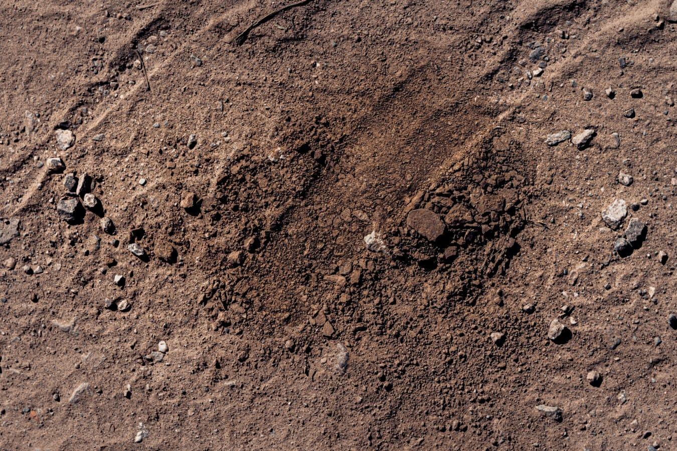 suelo, tierra, pista, polvo, sucio, áspero, textura, yermo, sequía, seco