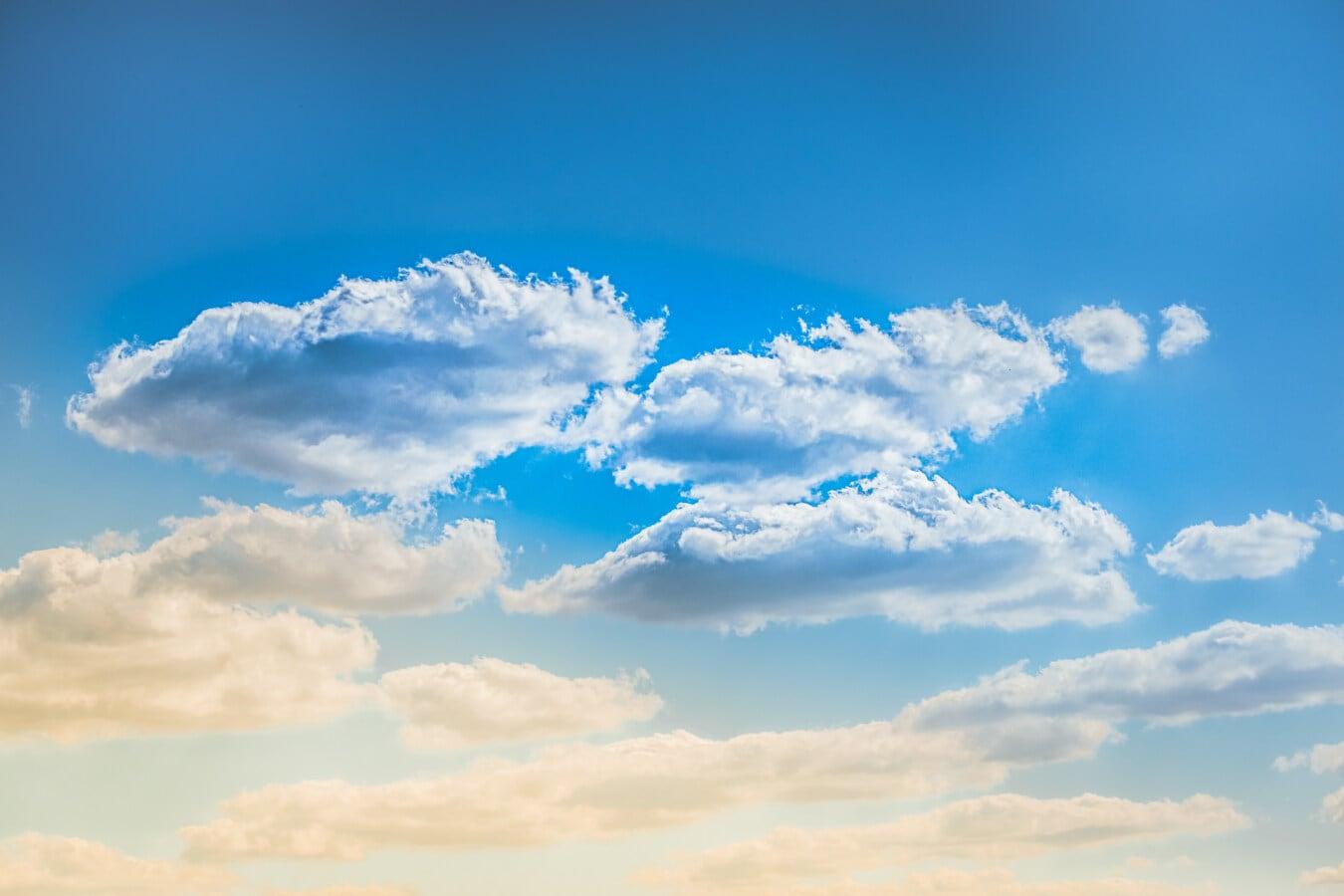 meteorology, overcast, sunshine, blue sky, sunrays, clouds, atmosphere, landscape, majestic, nature