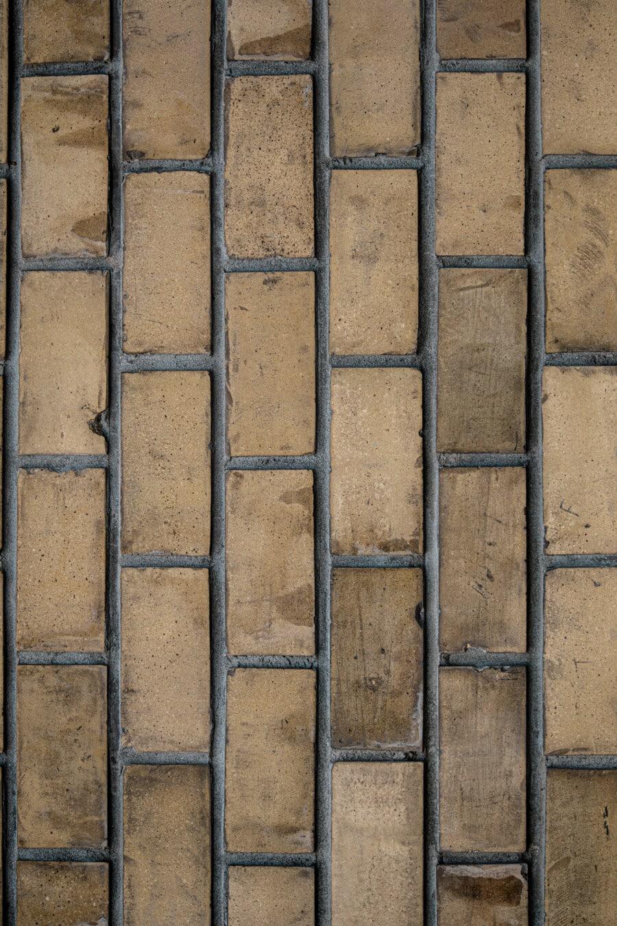 Textil, Muster, Jahrgang, vertikale, Wand, Ziegel, gewöhnliche, Mauerwerk, Ziegel, solide