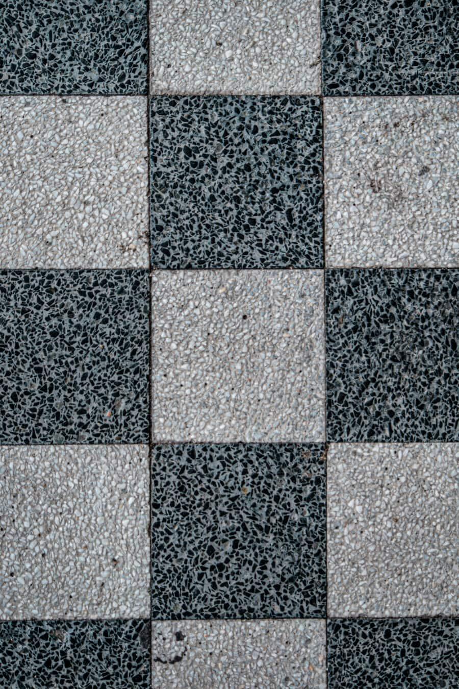 texture, vertical, granit, marbre, cube, noir et blanc, régulière, Rectangle, mosaïque, place