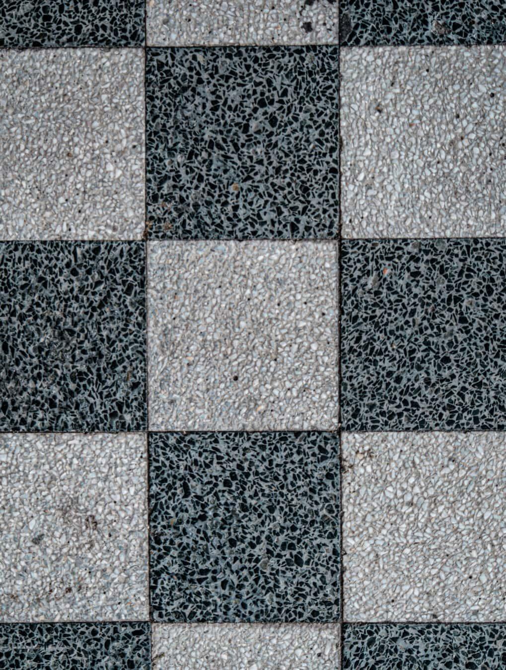 schwarz und weiß, Textur, Marmor, Würfel, geometrische, Granit, Platz, vertikale, Mosaik, Oberfläche