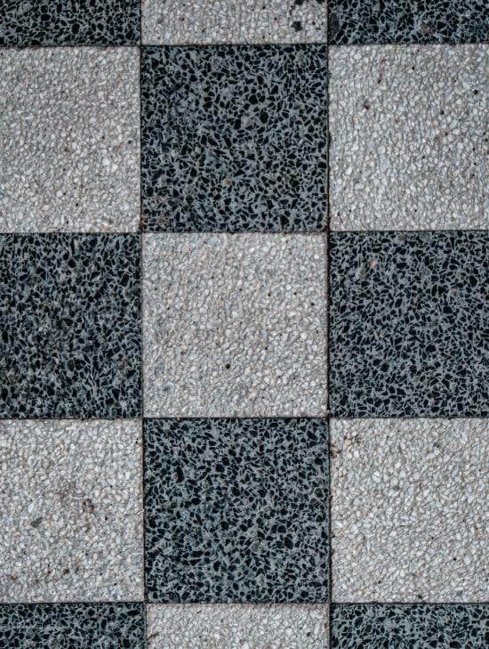noir et blanc, texture, marbre, cube, géométrique, granit, place, vertical, mosaïque, surface