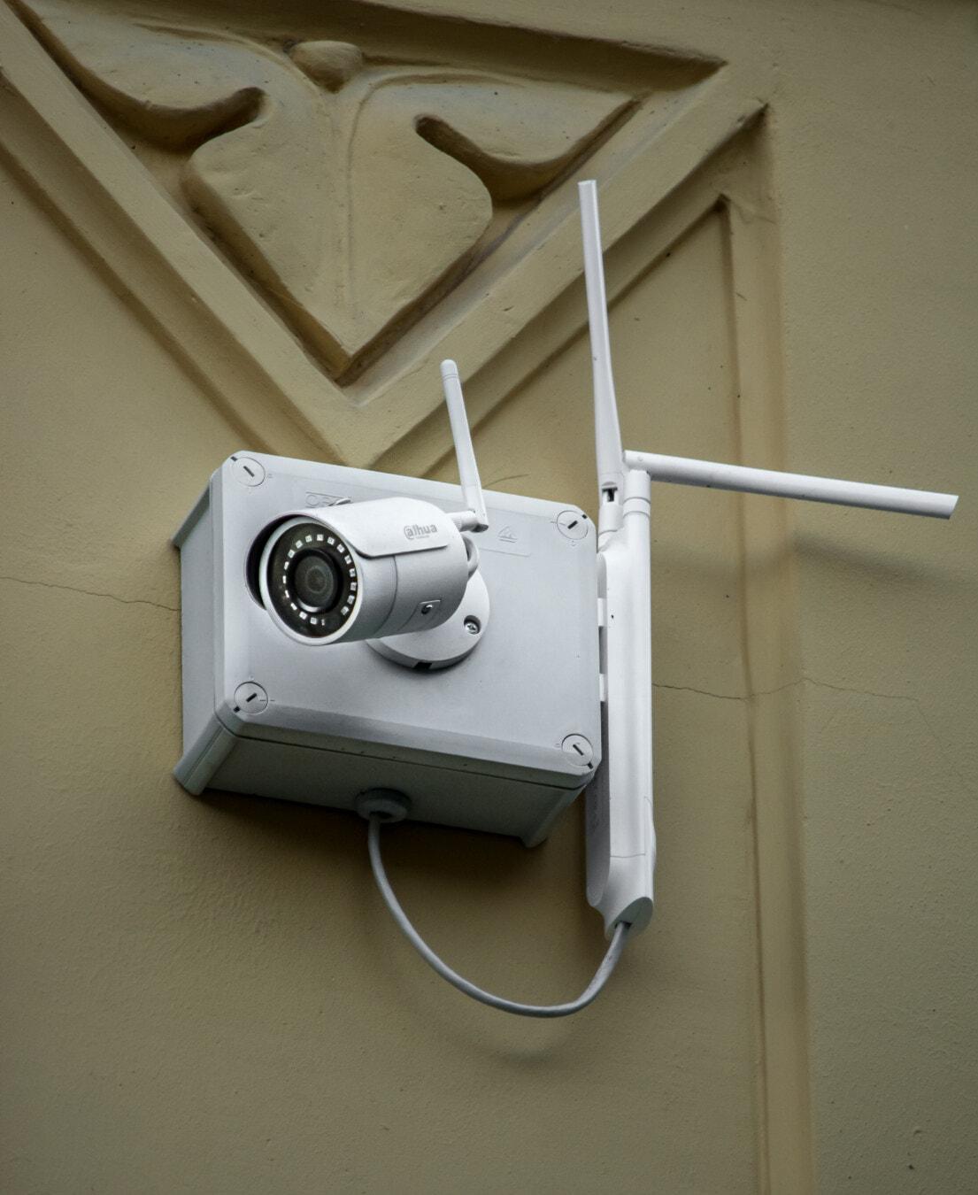 sans fil, surveillance, enregistrement vidéo, appareil photo numérique, sécurité, Internet, technologie, appareil photo, unité, équipement