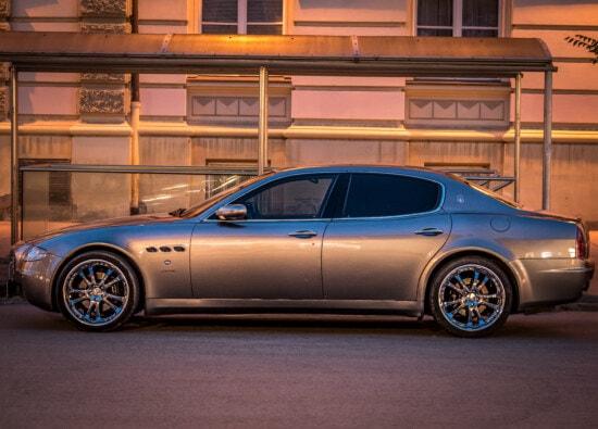 expensive, sharing, sedan, car, sports car, reflection, flare, side view, vehicle, transportation
