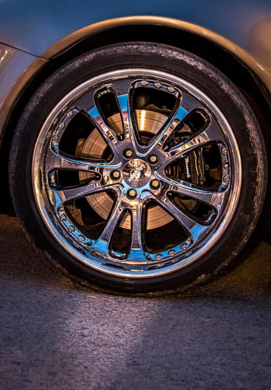 rim, car, aluminum, reflection, chrome, flare, sports car, expensive, machine, wheel