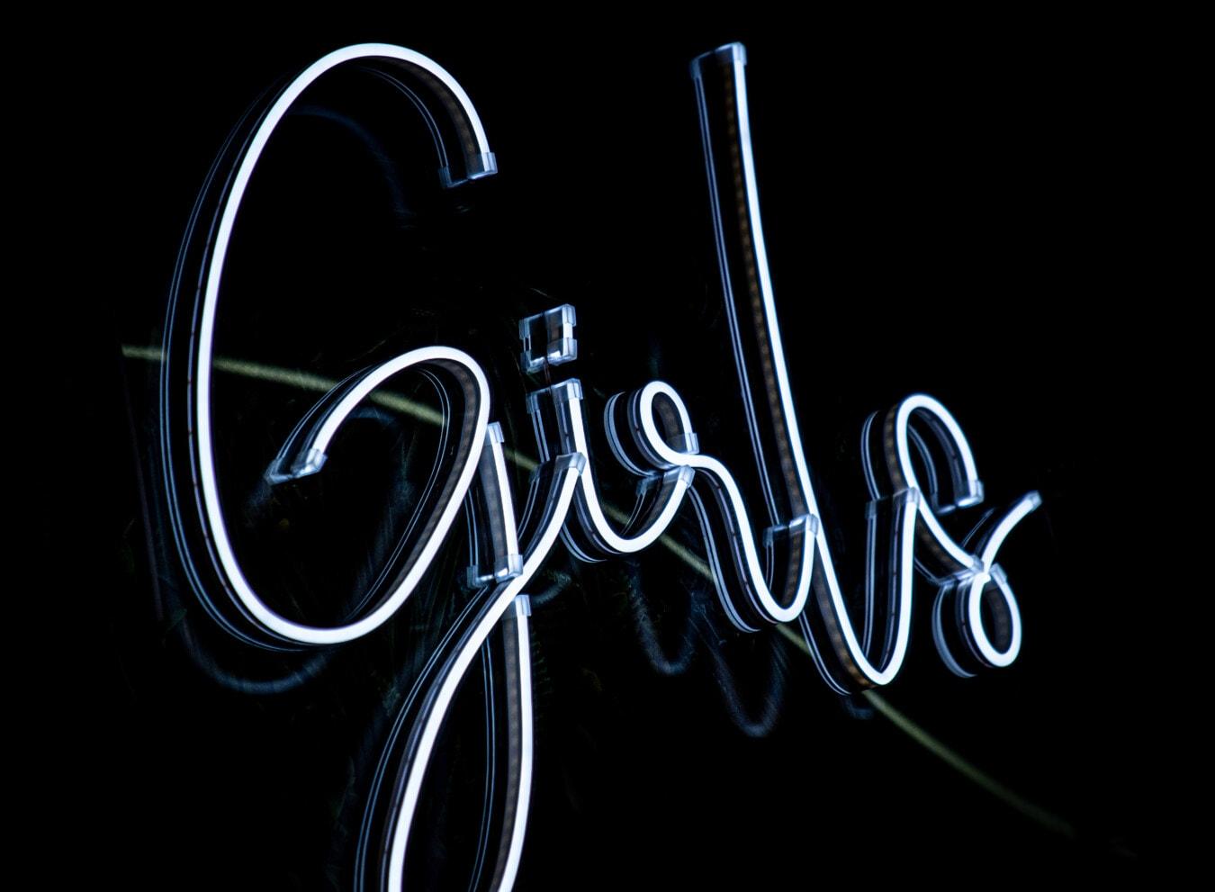 signe, Néon, bleu, brillant, commercialisation, La publicité, typographie, symbole, conception, illustration