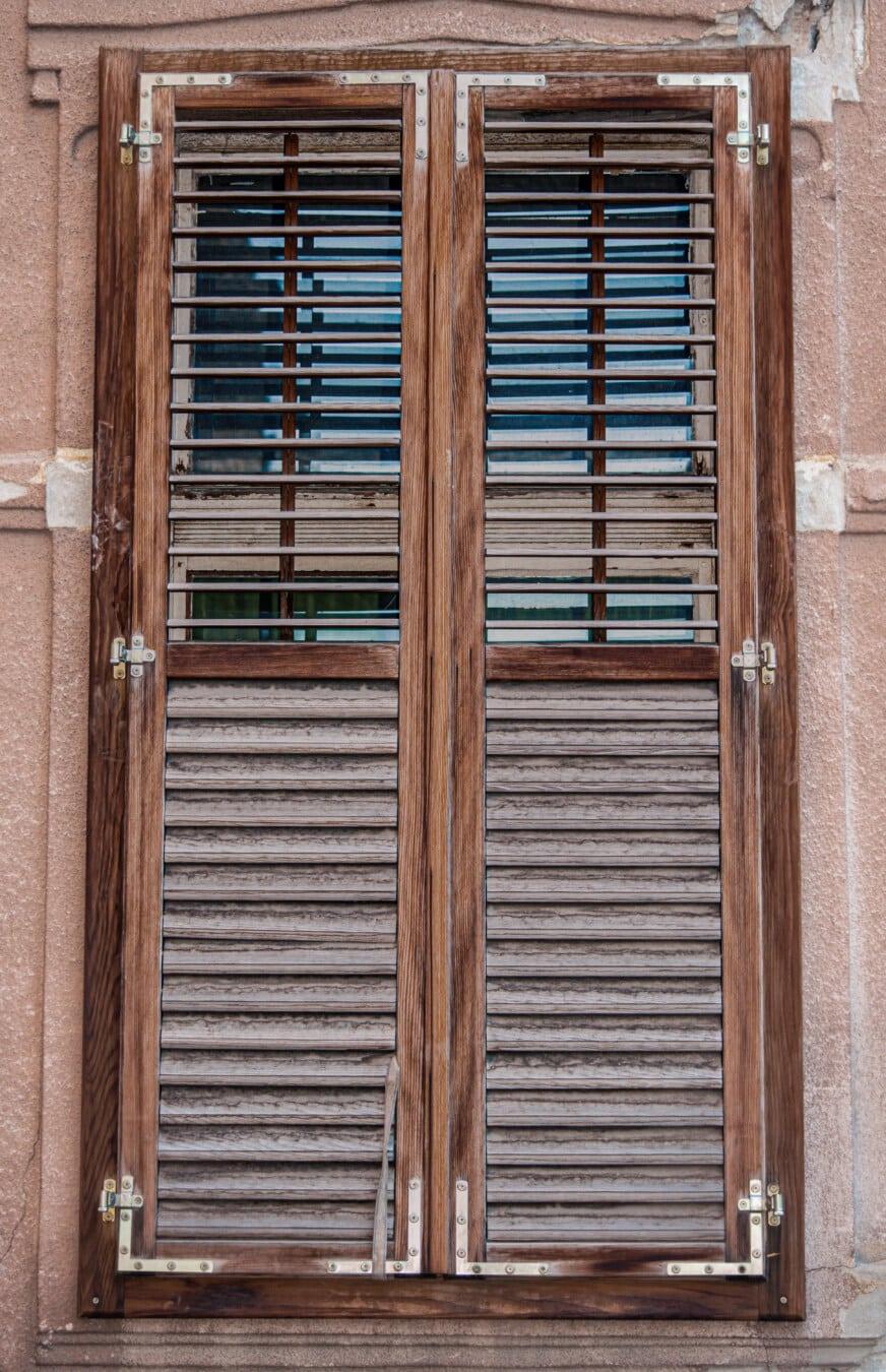 Frame, aus Holz, Fenster, Tischlerei, handgefertigte, alt, Holz, Architektur, Retro, dreckig