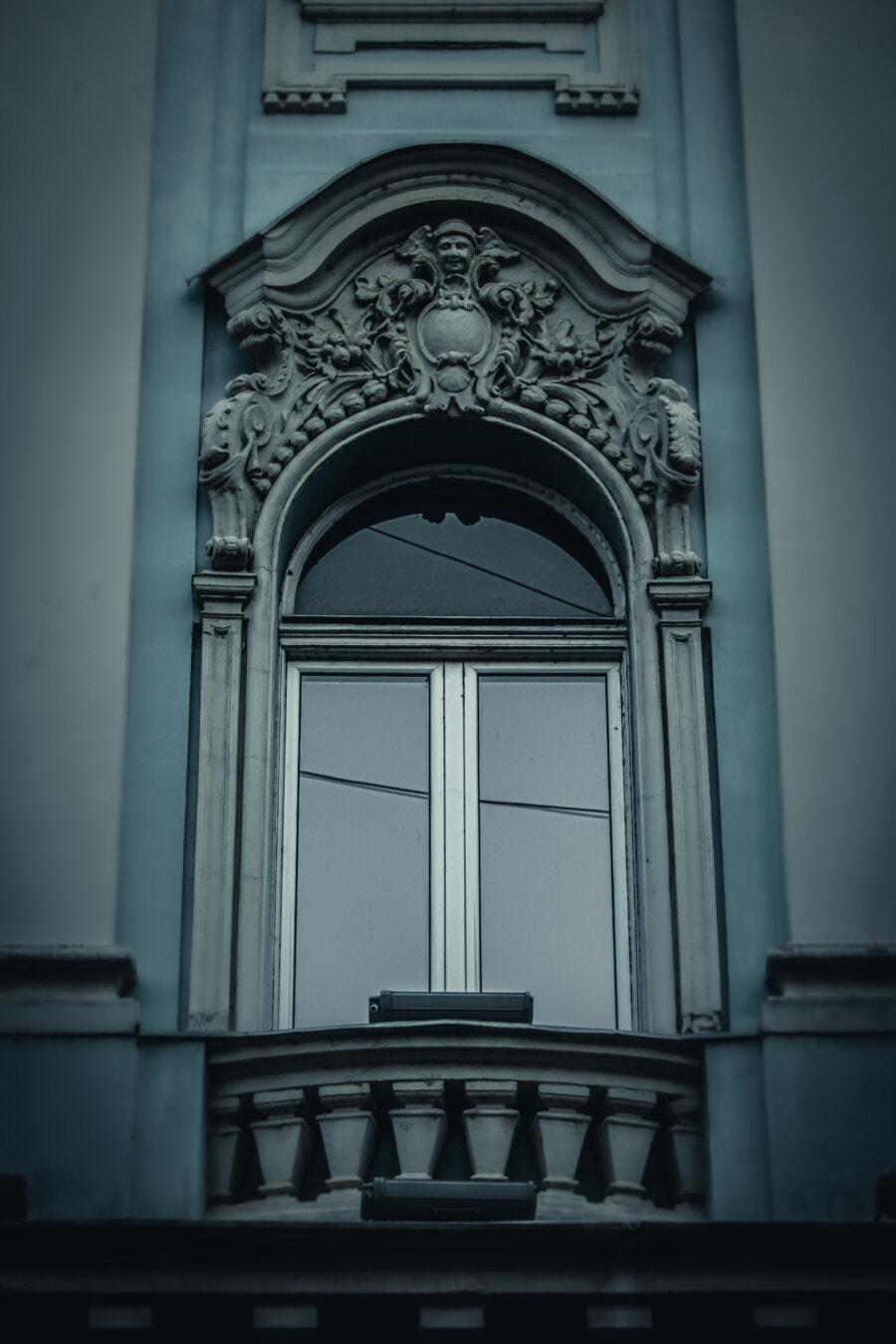 Fassade, fenster, Barock, Kunstwerk, Kreativität, Arabeske, Arch, Relief, Kunst, Architektur