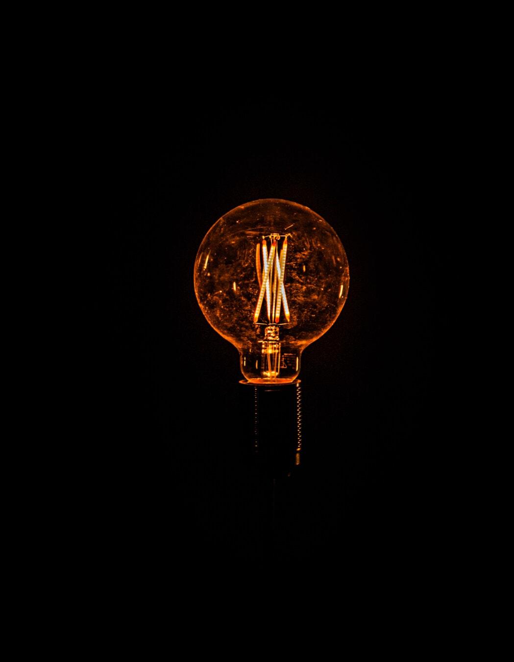 wireless, transmission, electricity, science, idea, light bulb, wire, bulb, illuminated, light