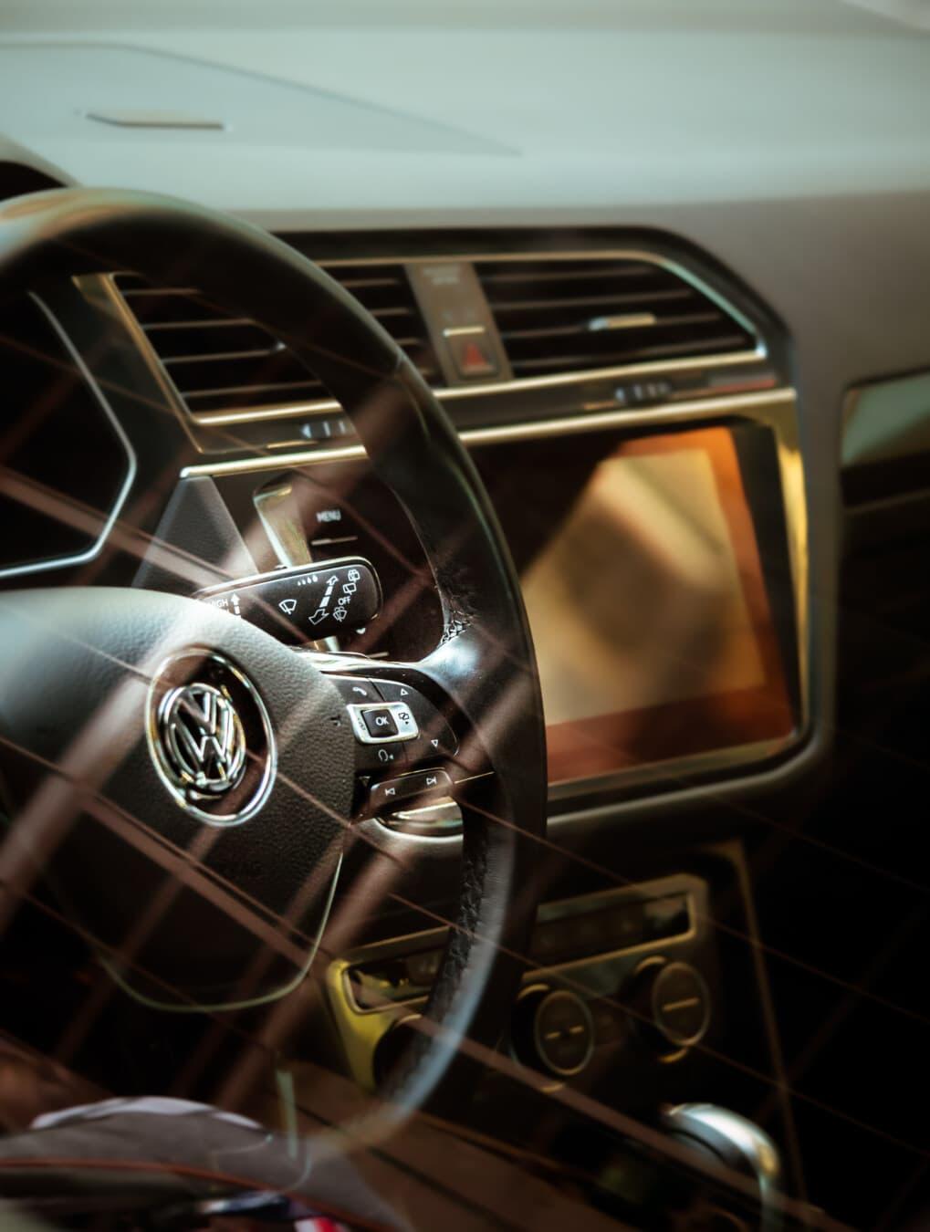 voiture, contrôle, tableau de bord, volant de direction, automobile, décoration d'intérieur, véhicule, automobile, en voiture, panneau de commande
