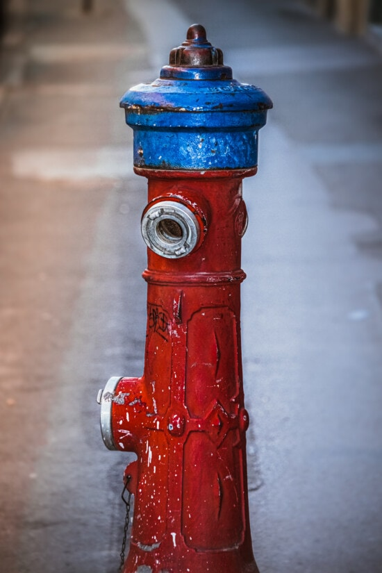 hydrant, dark red, classic, old, faucet, antique, steel, retro, street, dirty