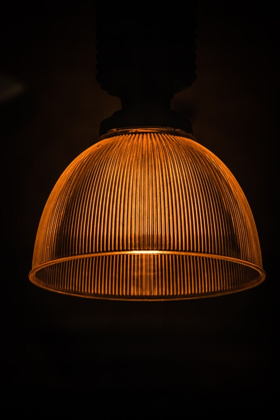 classic, round, light brown, chandelier, stained glass, shade, lamp, light, bulb, illuminated