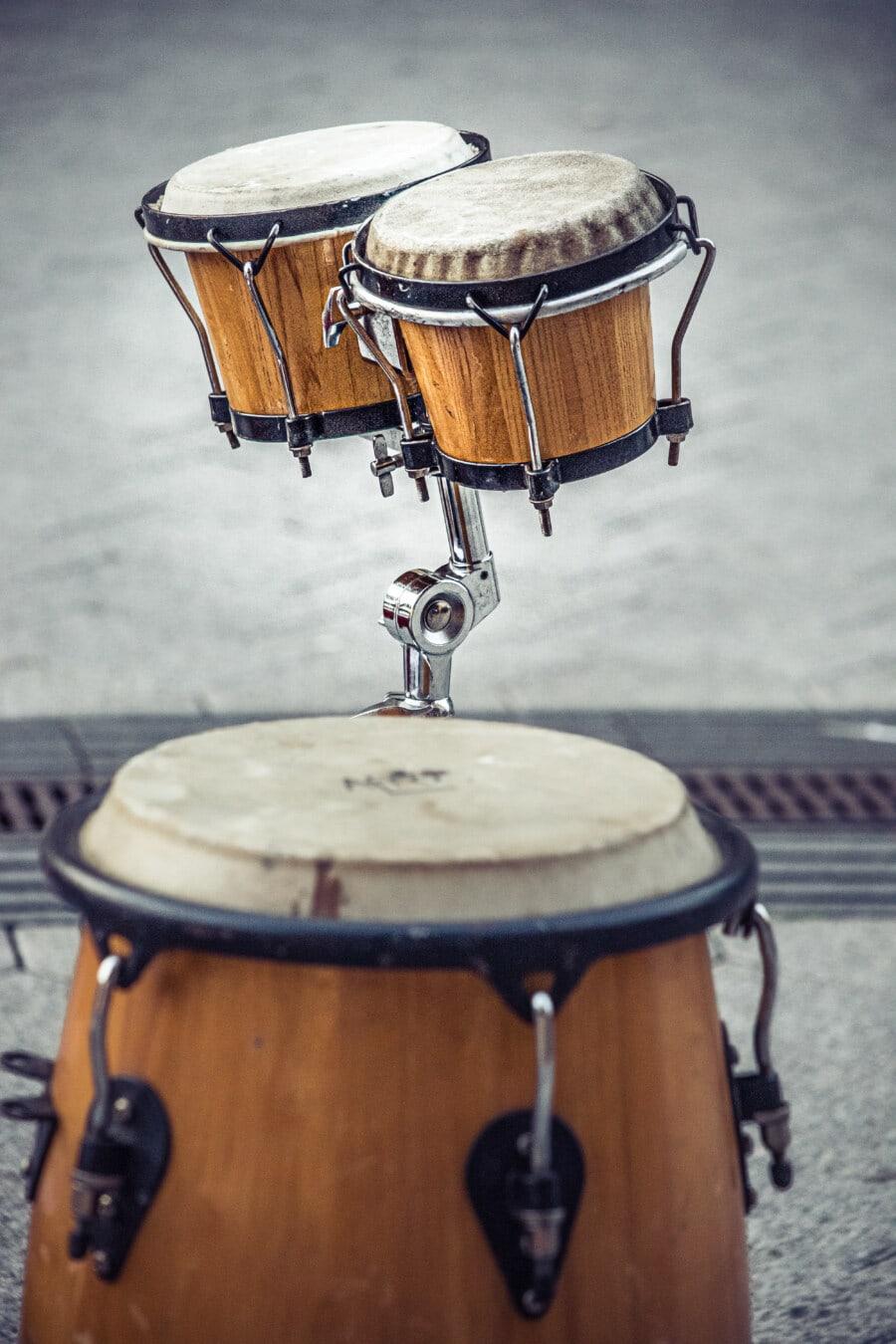 classique, style ancien, tambour, instrument, musique, bois, retro, son, traditionnel, vieux