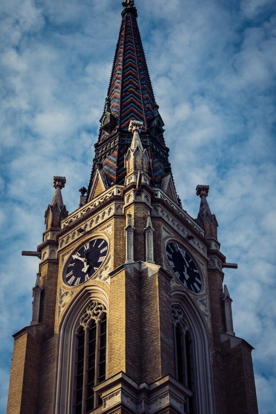 Wasserspeier, kathedrale, architektonischen Stil, gotisch, viktorianischen, Architektur, Kirche, Turm, Gebäude, Wahrzeichen