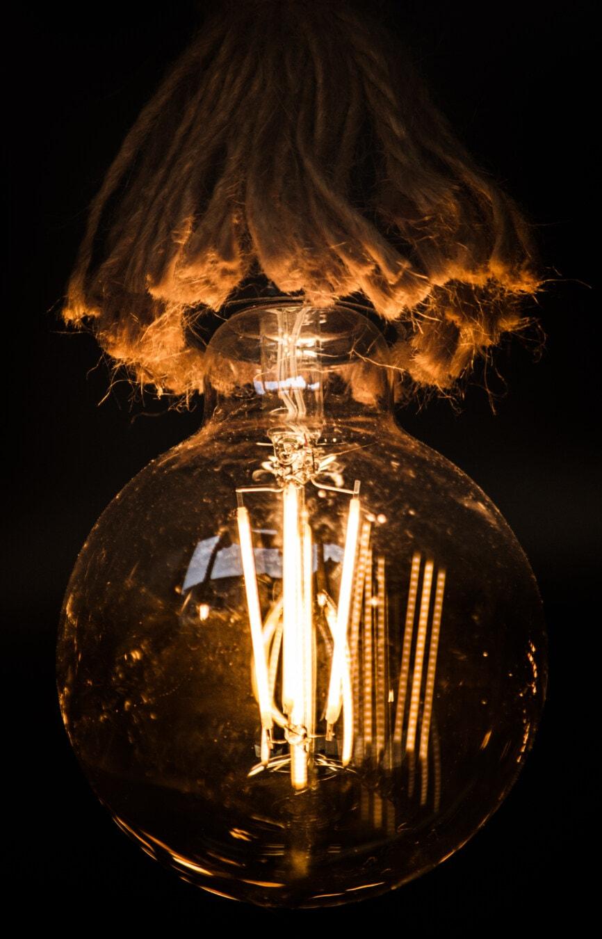 wynalazek, Nauka, żarówki, Inżynieria, energii elektrycznej, światło, noc, ciemności, ciemny, Boże Narodzenie