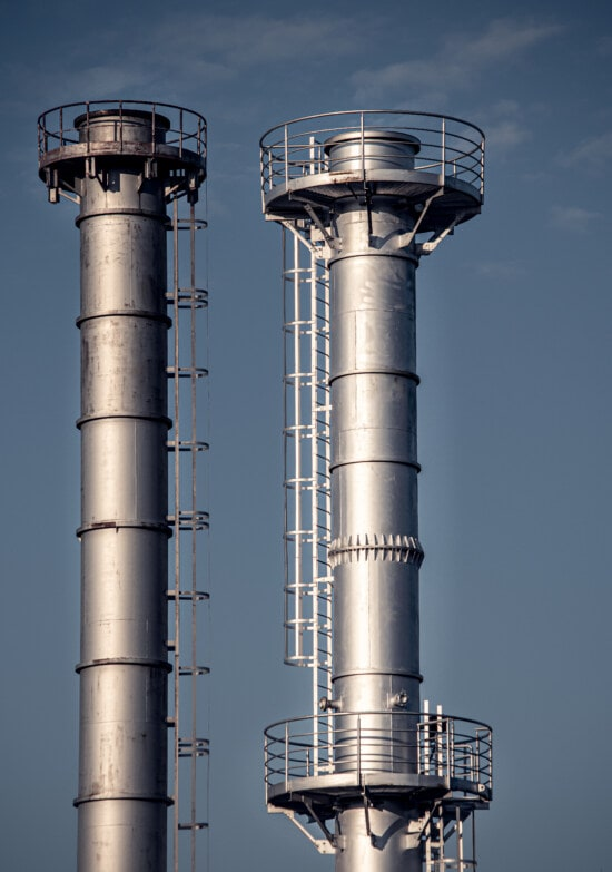 facility, chimney, tower, factory, refinery, chemical, pollution, smog, pipe, gas well