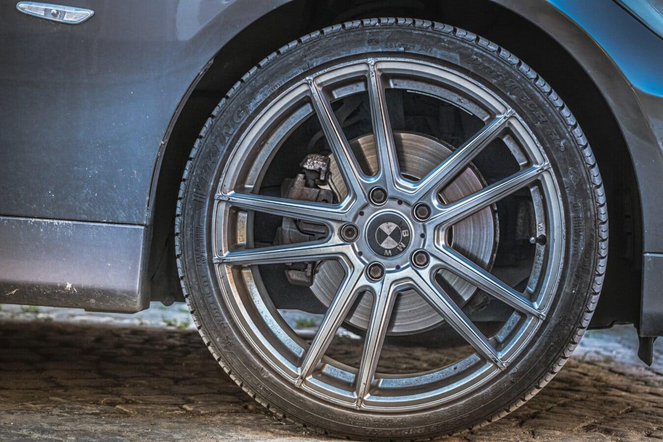 dæk, hjulet, bil, maskine, autojen, rand, cykel, kromi, stål, køretøj