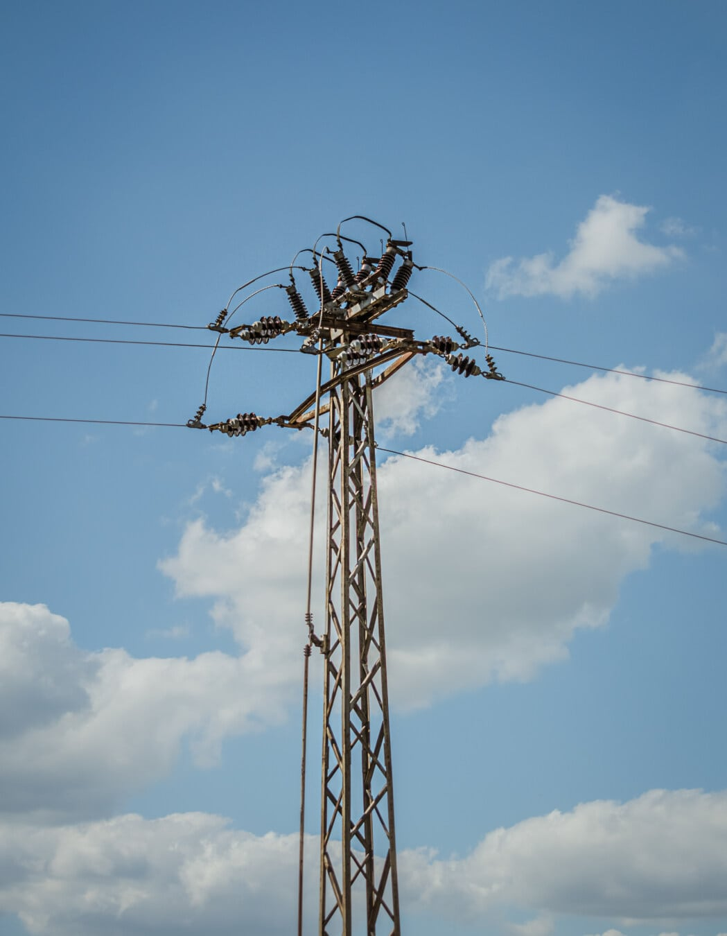 electricity, grid, transmission, distribution, pylon, cable, energy, wire, voltage, high