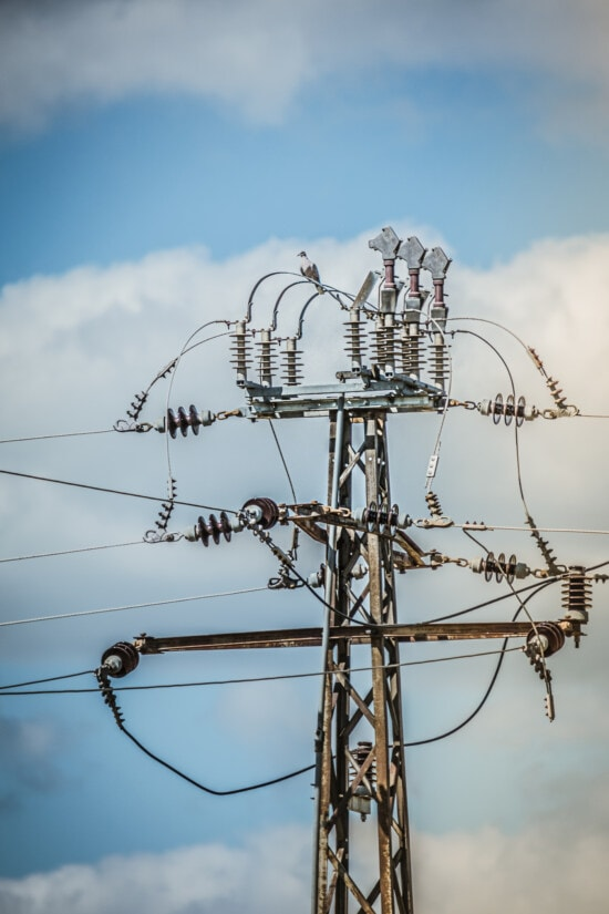 high, distribution, voltage, pylon, transmission, wires, tension, network, tower, electricity