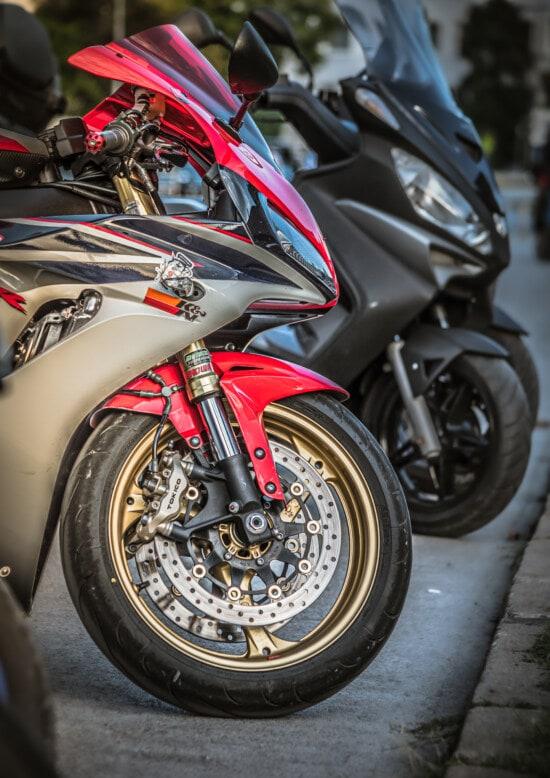 væddeløb, motorcykel, parkeringsplads, hjulet, transport, cykel, motor, hastighed, kromi, køretøj