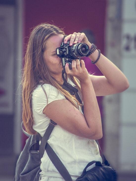 photograph, digital camera, photo model, photomicrograph, photographer, photojournalist, pretty girl, young woman, woman, girl