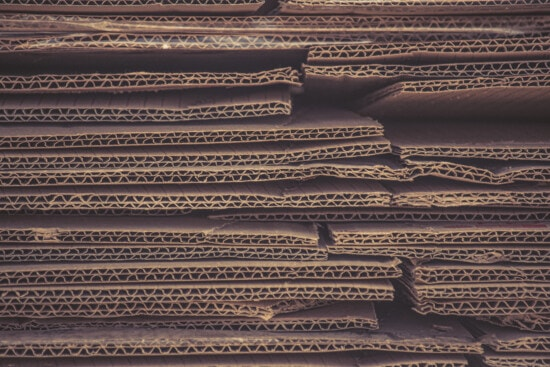 carton, cardboard, texture, light brown, stacks, pile, recycling, paper, waste, trash