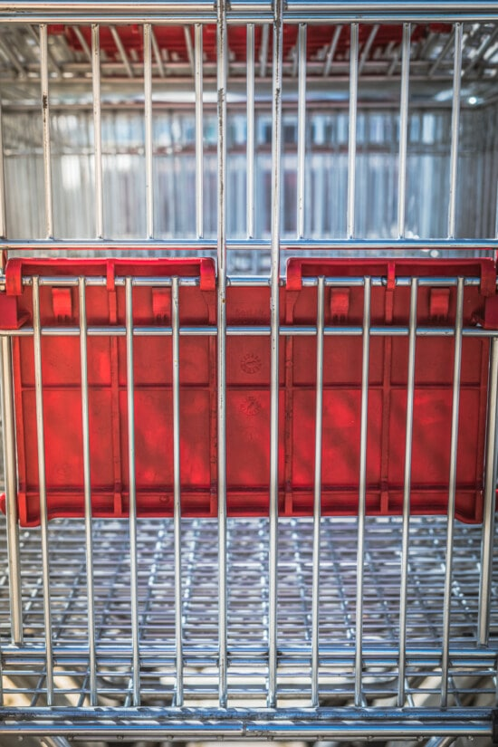 shopping, trolley, cart, close-up, handcart, container, steel, industry, empty, metal
