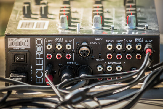 audio, sound, amplifier, device, mixer, cable, wires, stereo, switch, technology