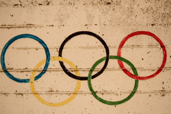 graffiti, circle, olympic, concrete, visuals, colorful, wall, decoration, texture, dirty