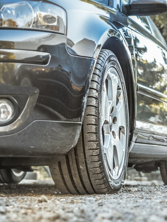 Audi, black, rim, tire, aluminum, bumper, headlight, automobile, wheel, car