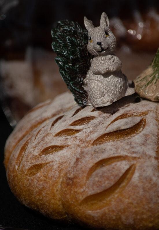 Uskrs, zeko, kruh, domaće, tradicionalno, tijesto, hrana, pečenje, pšenica, doručak