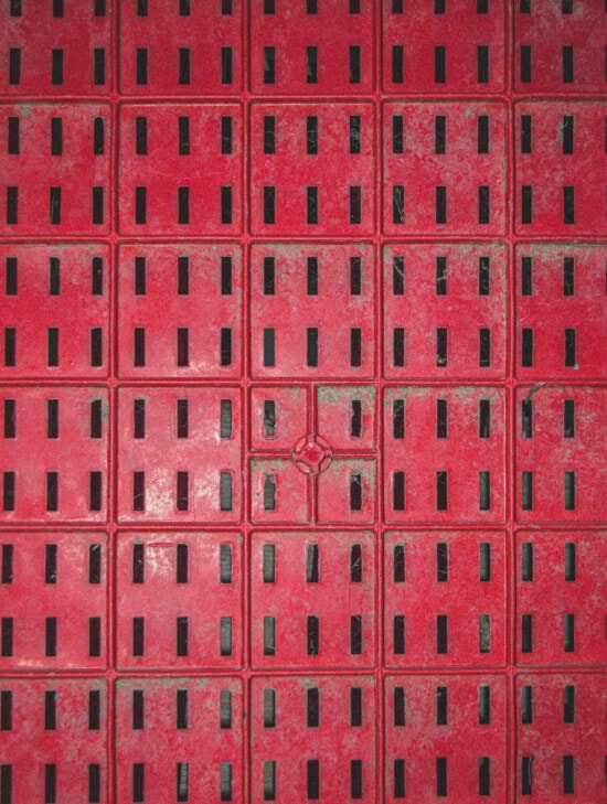 geometric, texture, plastic, reddish, shape, grid, hole, dirty, pattern, design