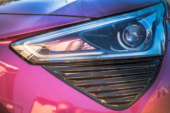 până aproape, faruri, masina, Sedan, bec, lumini, reflecţie, stralucitoare, semnal luminos, iluminare