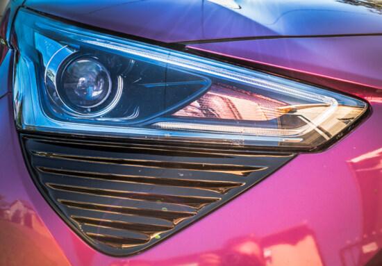 Scheinwerfer, Auto, aus nächster Nähe, Lichter, Glühbirne, Licht, Fahrzeug, Reflexion, Stoßstange, Farbe