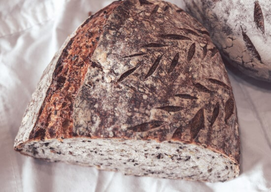organic, wholemeal bread, rye, wheat, wholemeal flour, bread, food, flour, baking, upclose