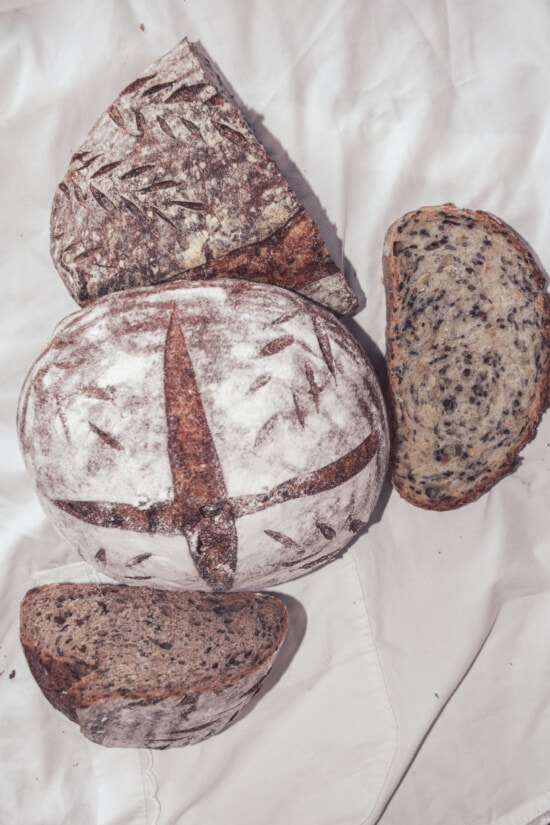 homemade, wholemeal bread, bread, food, delicious, breakfast, traditional, cooking, flour, baked goods