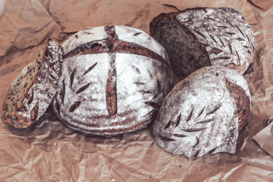 fresh, homemade, organic, healthy, wholemeal bread, baked goods, pastry, bread, traditional, delicious