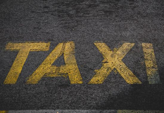 таксі, текст, знак, паркування, стоянка для машин, трафік, Асфальт, дорога, вулиця, попередження