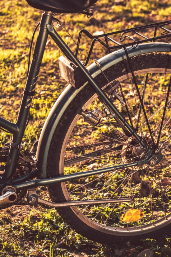 bicycle, classic, old style, tire, dynamo, wheel, device, outdoors, nature, vehicle