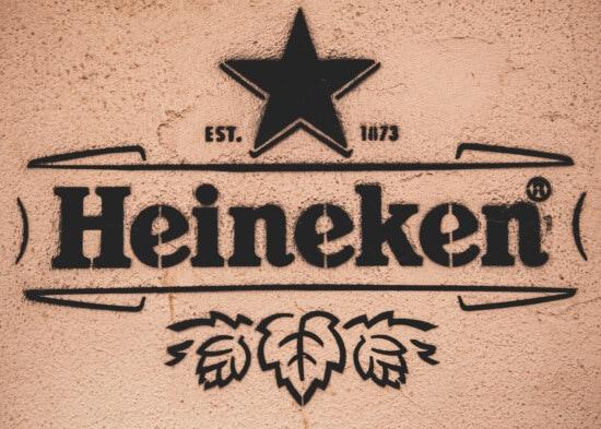 Хейнекен, граффити, знак, марочный, старый стиль, старомодный, черный, текст, старый, ретро