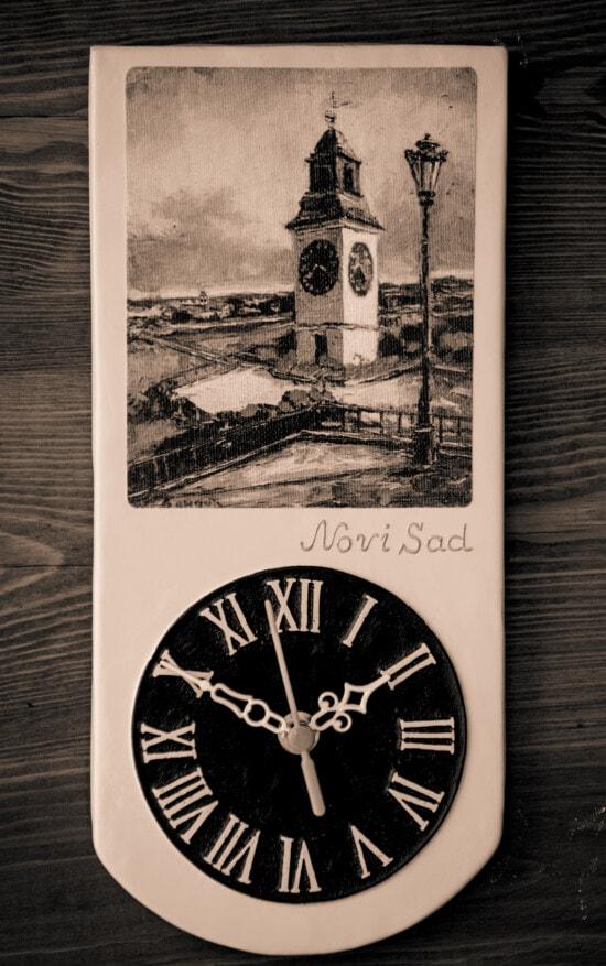 時計, ヴィンテージ, 手作り, 記念品, セピア, アナログ, 時間, アナログ時計, レトロ, アート
