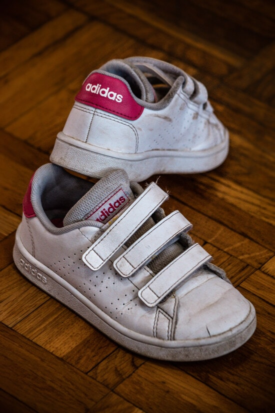 classic, white, Adidas, leather, sneakers, parquet, floor, hardwood, fashion, shoes