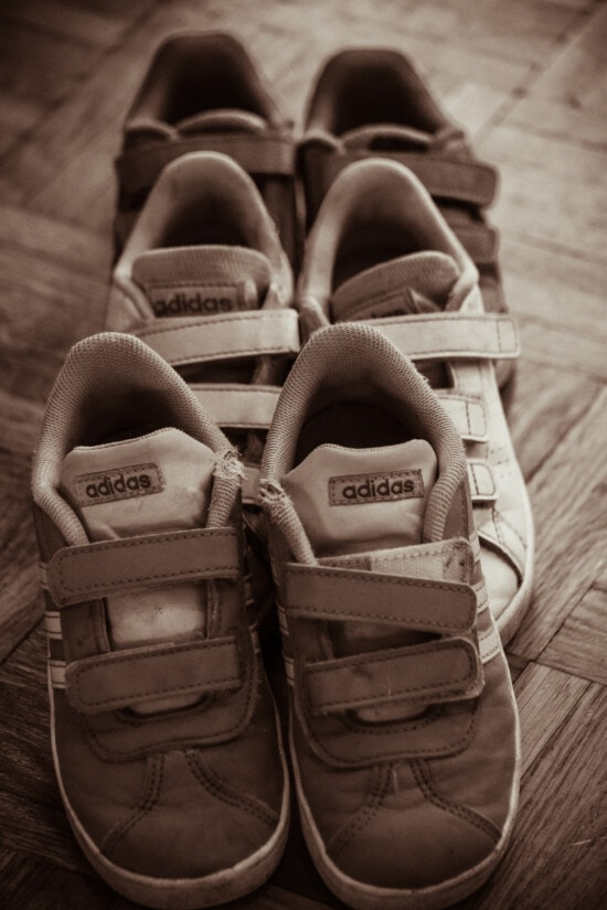 classic, vintage, Adidas, sneakers, old fashioned, sepia, leather, fashion, footwear, casual