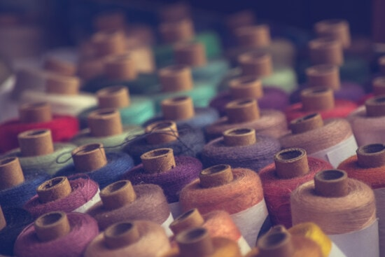 thread, fiber, sewing, close-up, colorful, colors, craft, creativity, skill, color