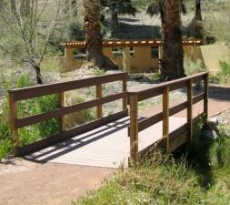 noha, most, chodník