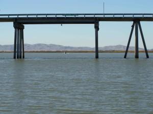 beldens, aterrizaje, puente