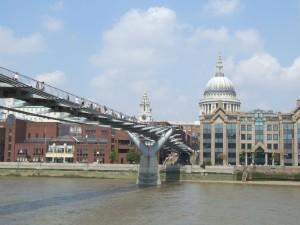 bridge, old, Pauls, church